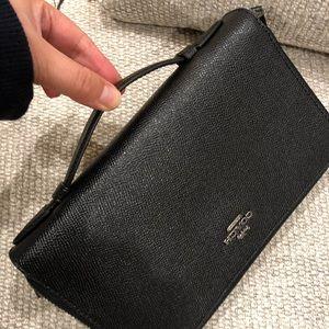 NWT Coach large wallet /clutch/ brief case